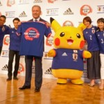 Fig. 7: Pikachu as Japan's World Cup Mascot, [online], available at: http://www.animenewsnetwork.com/interest/2014-03-13/pikachu-akb48-teams-up-with-adidas-to-support-japan-2014-world-cup-team