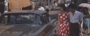 Kawazu Yūsuke and Kuwano Miyuki in Cruel Story of Youth (1960)